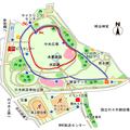 代々木公園のランニングコース
